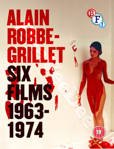 Alain Robbe-Grillet Collection 1963-1974 (6 Films) - 3-Disc Box Set (Blu-Ray)